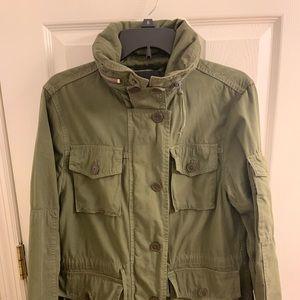 J Crew hooded Military Jacket, like Megan Markles